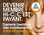 Deviens membre Hostelling International